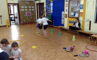 Obstacle Course Building in P.E