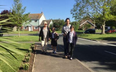 National Walk to School Week