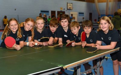 U11 Table Tennis Tournament
