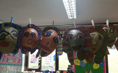Egyptian Death Mask Making in DT