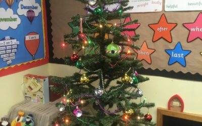 Christmas in Kingfishers Class