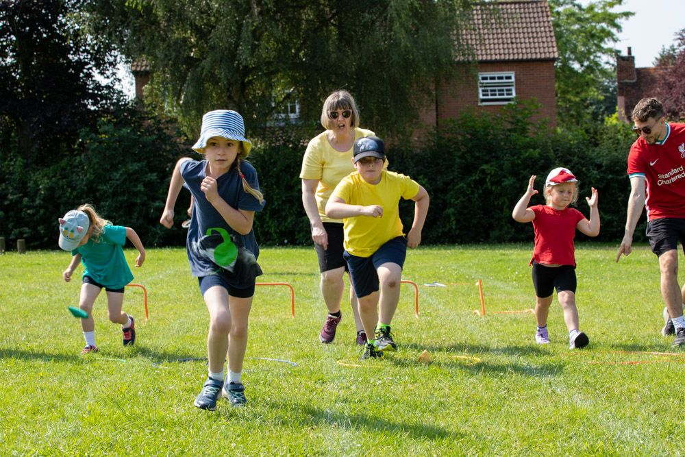 Sports Day – Woodpeckers and Kingfishers