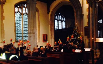 Christingle in the Church