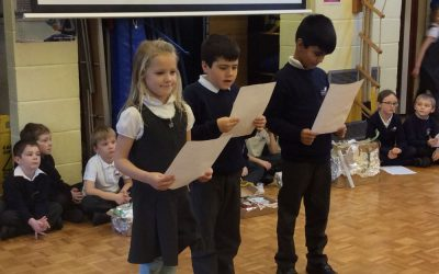 Hobbling, Gobbling and Wobbling in Woodpeckers' Class Assembly!